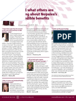 Nopalea Tasting Handout 1-Testimonials
