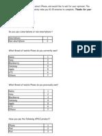 Questionnaire 20120513