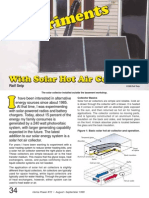 Home Power Magazine Issue 072 Extract - p34 Solar Hot Air Collectors