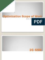 Optimization Scope of Work