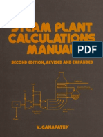 Ganapathy - Steam Plant Calculations Manual
