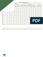 planillas de datos