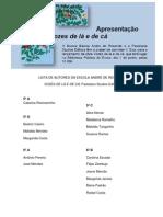 LISTA DE AUTORES DA ESCOLA ANDRÉ DE RESENDE