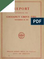 Coconut Grove Fire Report