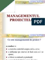 Managementul Proiectelor - Curs Final