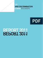 Report 2011 on Intolerance and Discrimination Against Christians in Europe Webversion[1]