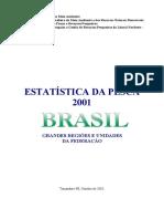 EstatÝstica da pesca IBAMA 2001