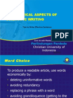 Grammatical Aspects of Scientific Writing (2012)