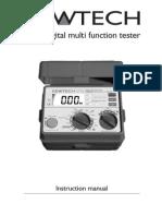 KT62 Manual