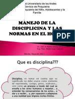 Manejo de La Disciplina en El Hogar y La Escuela. Final