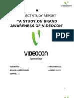 Brand Awareness of Videocon