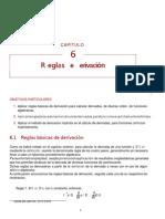 Reglas de derivación Basicas