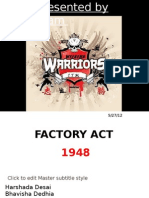 Factory Act 1948