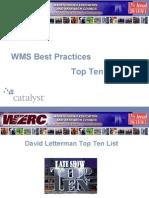 Top 10 Wms Practises