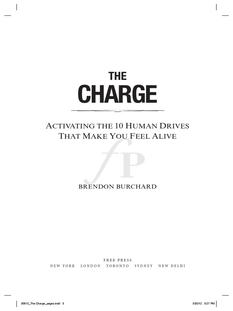 The charge by brendon burchard book preview mind motivation fandeluxe Gallery