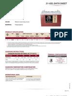 31GEL Trojan Data Sheets