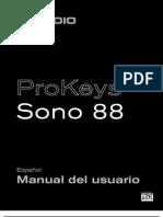 Pro Keys Sono 88 UG (ES)