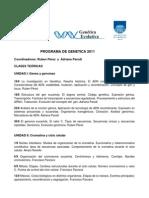 Program a Genetic a 2011