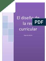 EL DISEÑO DE LA RED CURRICULAR  24-octubre 20 2011 segunda edicion