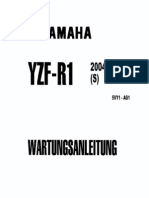 Yzfr1 Rn12 Service Manual German