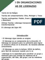 TEORIAS DE LIDERAZGO