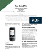 Riset Nokia 2700c