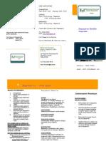 Φυλλάδιο Εθελοντικού Κοινωνικού Ιατρείου - Φαρμακείου