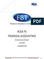 ACCA F3 - FA Support Material by FBT