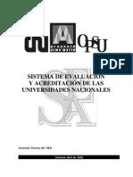 SistemaEvaluacionAcreditacionCalidadUniversitariaVenezuela