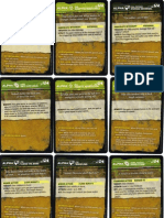 D&D Gamma World - Alpha Cards