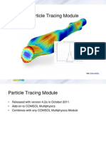 Particle Tracing Module COMSOL
