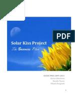 Solar Kiss Business Plan Version _ FINAL