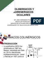 Colinergicos y Adrenergicos Oculares