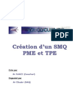 Création SMQ