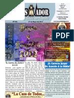 2012-05-27 El Conquistador Boletín Semanal de La Casa de Todos