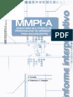 Muestra Informe Mmpi-A