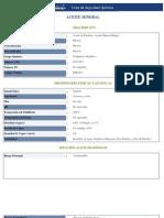 Ficha de Seguridad Del Aceite Mineral