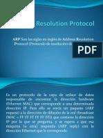 Address Resolution Protocol