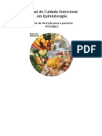 Manual de Cuidado Nutricional Em Quimioterapia