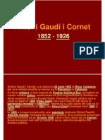 Antoni Gaudi arhitectura