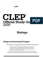 79702943 Biology CLEP Study Guide