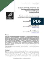 O desenvolvimento profissional dos formadores de professores de Química contribuições epistemológicas