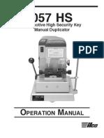 057hs Manual