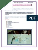 ANALISIS de AGUA (Conductimetria y PHmetro)