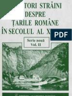 Călători străini despre TRom în secl XIX Vol 2 - 1822-1830