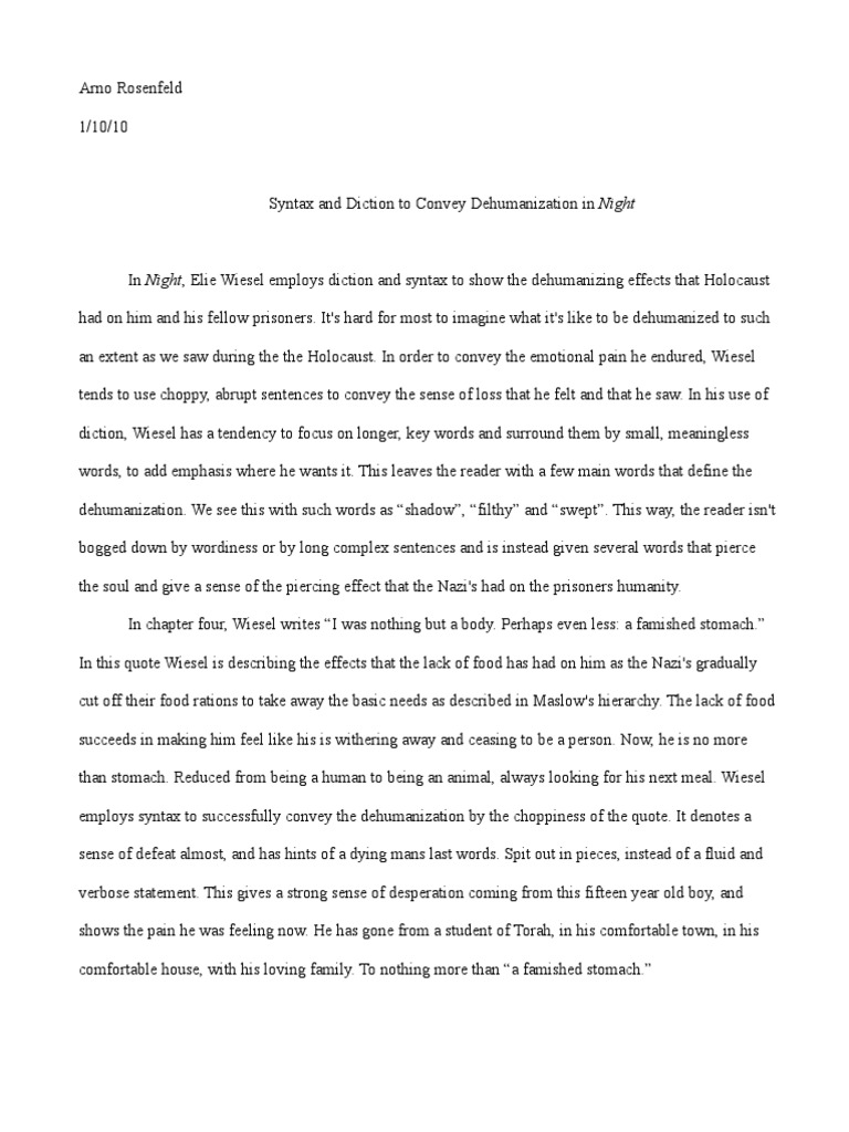 5 paragraph essay on the book night - Academic writing companies ...