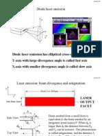 Diode Laser Emission