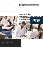 Acces Vasculaire Hemo Med042