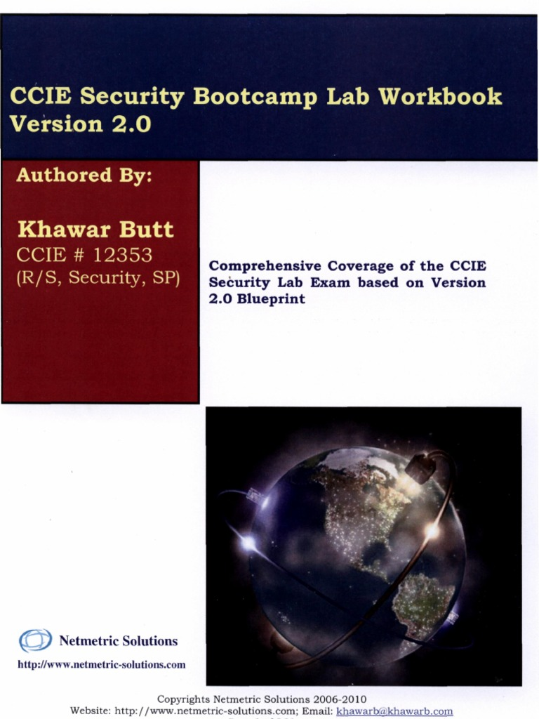 Netmetric Ccie Security-Khawar Bhutt CCIE Security Workbook v2