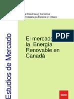 Mercados de energía eléctrica canadá